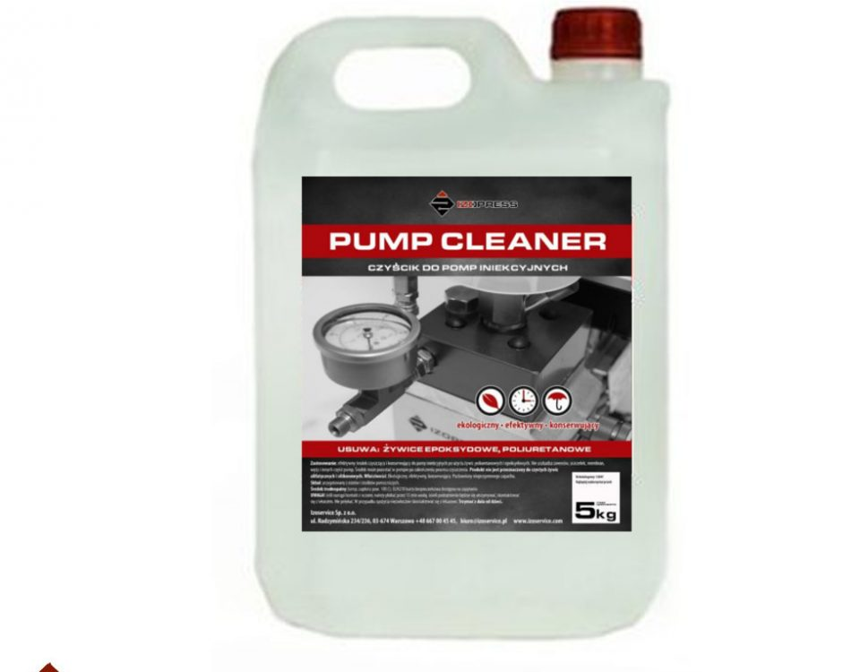 Izopress Pump Cleaner - czyścik do pomp