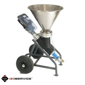 IZOPRESS 900S – Screw pump for injection and spraying