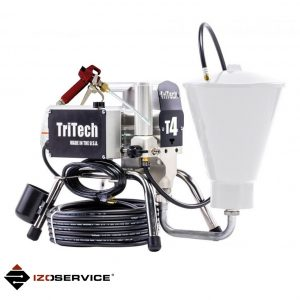 Piston pump TriTech T4 for spraying and injection
