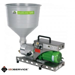 inoBEAM M8 the handy 230 V peristaltic delivery pump for liquid and paste-like materials