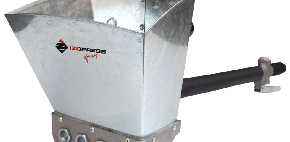 Izopress Spray tynkownica do natrysku zapraw
