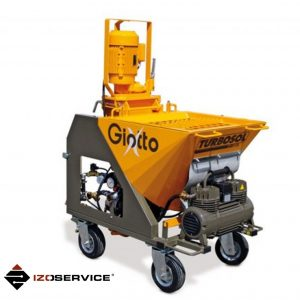 Turbosol Giotto plastering machine